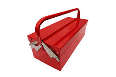 iconic toolbox on white background Royalty Free Stock Images