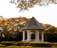 Iconic uteplats i Singapore botaniska trädgårdar royaltyfria foton