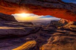 Mesa-båge Fotografering för Bildbyråer