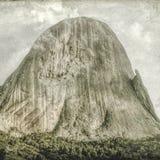 Iconic vagga bildande Pedra Azul 15, digital konst av Afonso Farias stock illustrationer