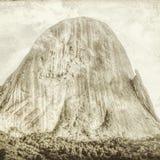 Iconic vagga bildande Pedra Azul 16, digital konst av Afonso Farias royaltyfri illustrationer