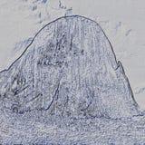 Iconic vagga bildande Pedra Azul 22, digital konst av Afonso Farias vektor illustrationer