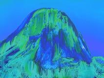 Iconic vagga bildande Pedra Azul 27, digital konst av Afonso Farias stock illustrationer