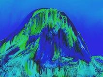 Iconic vagga bildande Pedra Azul 26, digital konst av Afonso Farias stock illustrationer