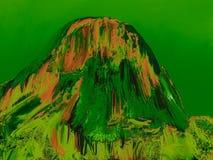 Iconic vagga bildande Pedra Azul 25, digital konst av Afonso Farias stock illustrationer
