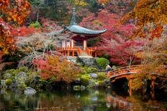 Daigoji, Kyoto, Japan Stock Image