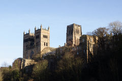 Iconic View of Durham Cathedral Royalty Free Stock Photography