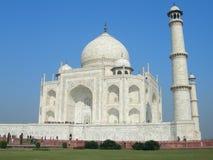 Iconic view of the Taj Mahal mausoleum Royalty Free Stock Image