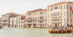 Iconic view of Venice Canal Grande Royalty Free Stock Photo