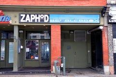 The iconic Zaphod Beeblebrox nighclub in Ottawa Royalty Free Stock Photos