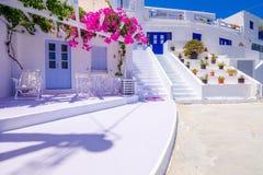 Iconisch traditioneel Ios eiland, Cycladen, Griekenland royalty-vrije stock foto's