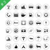 Icono #3 determinado stock de ilustración