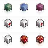 Icono 58L determinado del zodiaco y del juego Imagenes de archivo
