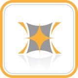 Icono abstracto de Internet del vector Imagen de archivo