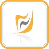 Icono abstracto de Internet del vector Fotografía de archivo