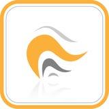 Icono abstracto de Internet del vector Foto de archivo libre de regalías
