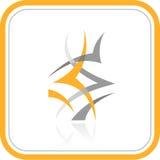 Icono abstracto de Internet del vector Fotos de archivo