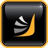 Icono abstracto de Internet del vector Foto de archivo
