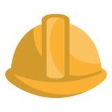 Icono aislado equipo de la seguridad industrial Foto de archivo