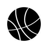 Icono aislado globo del baloncesto ilustración del vector