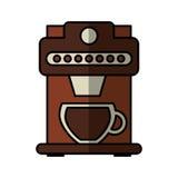 Icono aislado máquina del café Fotos de archivo libres de regalías