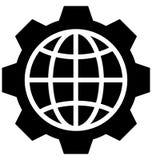 Icono aislado optimización del vector que puede ser modificado o ser corregido fácilmente stock de ilustración