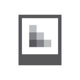 Icono alto o bajo de la imagen del res - para UI o UX stock de ilustración
