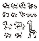 Icono animal Imagenes de archivo