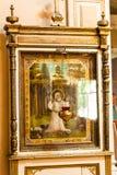 Icono antiguo de la iglesia Una de cualidades de la religión Imágenes de archivo libres de regalías
