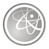Icono atómico de la manera Fotos de archivo