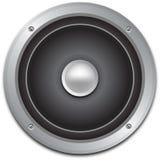 Icono audio del altavoz Fotografía de archivo libre de regalías
