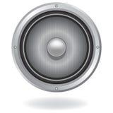 Icono audio del altavoz Imágenes de archivo libres de regalías