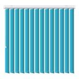 Icono azul vertical de la persiana, estilo realista stock de ilustración