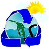 Icono cómodo de la gasolina Fotografía de archivo libre de regalías