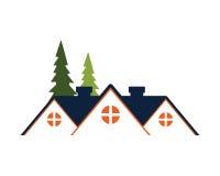 Icono casero de la casa Imagen de archivo libre de regalías
