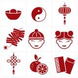 Icono chino del Año Nuevo