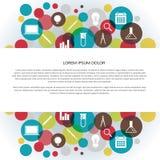 Icono colorido de Infographic Fotografía de archivo libre de regalías
