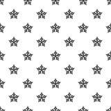 Icono convexo de la estrella, estilo simple stock de ilustración