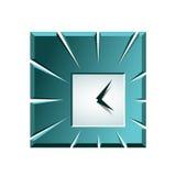 Icono creativo del reloj Fotos de archivo libres de regalías