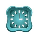Icono creativo del reloj Foto de archivo