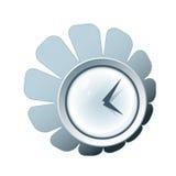 Icono creativo del reloj Imagen de archivo libre de regalías