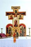Icono cruzado Foto de archivo