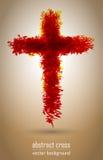 Icono cruzado Imagen de archivo