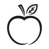 Icono de Apple Imagen de archivo