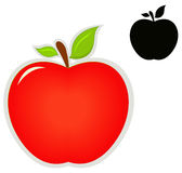 Icono de Apple Imagen de archivo libre de regalías