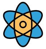 Icono de Atom Isolated Vector que puede modificarse o corregir f?cilmente libre illustration