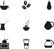 Icono de Coffe Foto de archivo libre de regalías