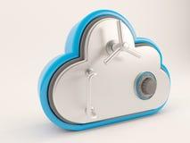 icono de 3D Cloud Drive Imágenes de archivo libres de regalías
