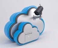 icono de 3D Cloud Drive Imagen de archivo libre de regalías