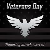 Icono de Eagle para el día de veteranos Ilustración del vector libre illustration